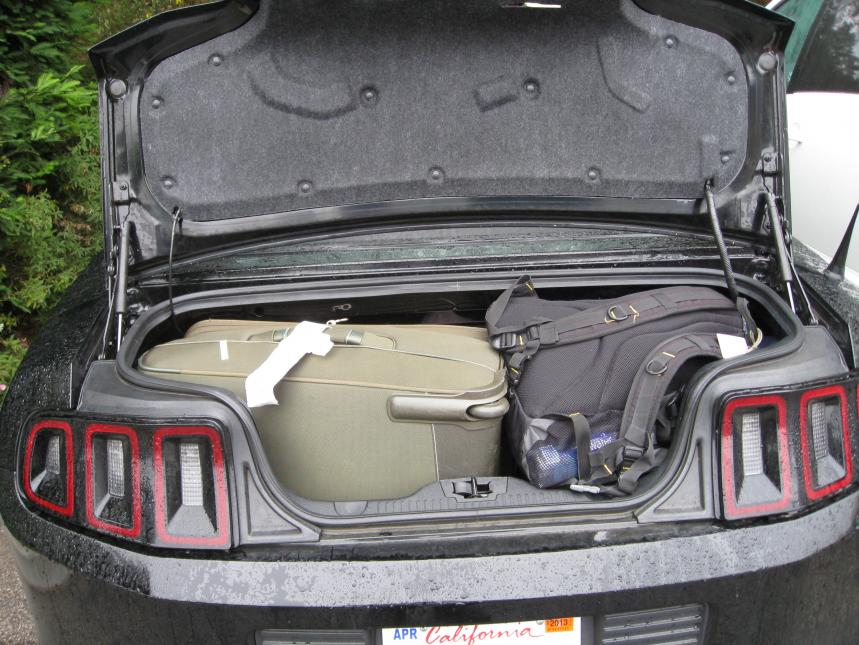 Mustang Convertible Trunk Size Mustang Owners Club Of Great Britain